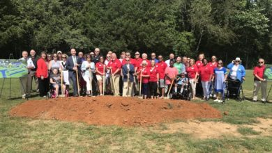 Photo of Groundbreaking for Smyrna Rotary Club All Inclusive Playground