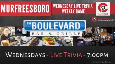 Photo of The Boulevard Weekly Live Trivia