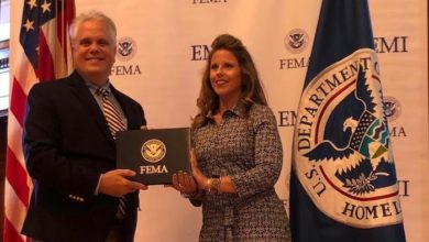 Photo of Ashley McDonald completes FEMA Master Public Information Officer program