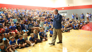 Photo of McFadden School of Excellence named National Blue Ribbon School