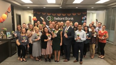 One Year Celebration for Reliant Bank