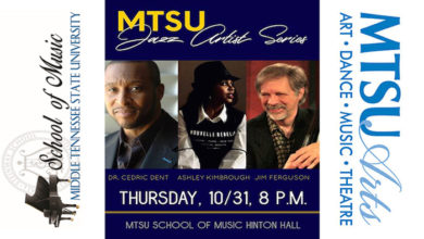 Photo of Vocal Jazz Showcase kicks off MTSU Jazz Artist Series