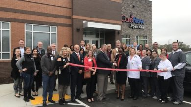 Photo of Ribbon Cutting for CareNow Urgent Care