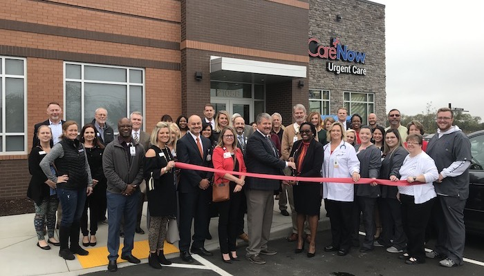 Ribbon Cutting for CareNow Urgent Care