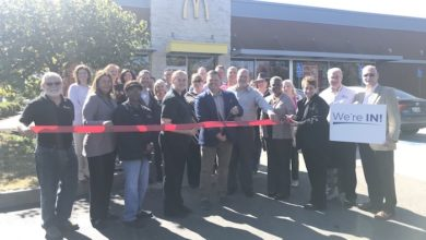 Ribbon Cutting for McDonald's Remodel ReGrand Opening