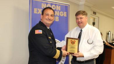 Tim Rowlett Firefighter of the Year
