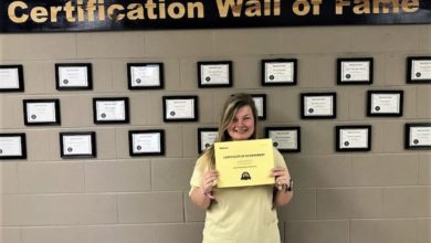 Photo of Siegel's Lauralee Richardson Earns Certification and College Credit