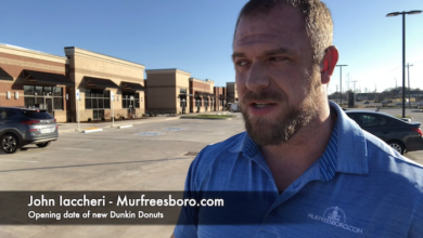 Photo of Opening date of new Dunkin Donuts in Murfreesboro
