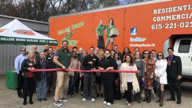 Photo of Ribbon Cutting for College Hunks Hauling Junk and Moving