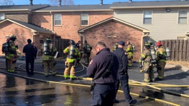 Fire at Rivermont Apartments