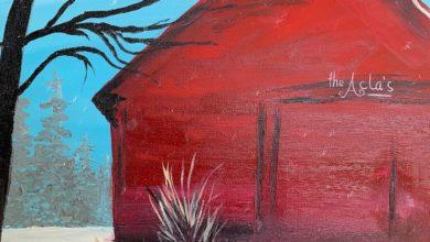 Photo of Adult Winter Barn Scene Acrylic Painting Class