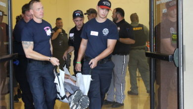 Photo of Rutherford County emergency responders complete active threat training