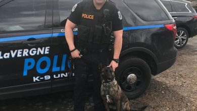 La Vergne K-9 officer Bora