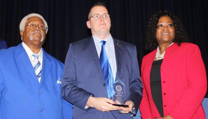 Jerry Anderson Award presentation to Brady Lutton