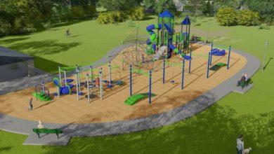 Playground at Veterans Memorial Park