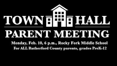 Rutherford County Schools Town Hall meeting