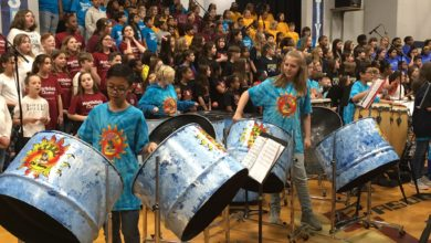 Photo of Students Perform in MCS Music Festival