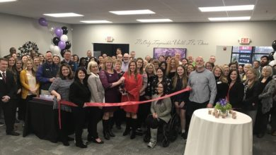 Ribbon Cutting for A Mortgage Boutique