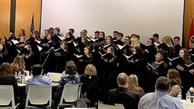 Photo of Siegel High School Choir Performs for Governor