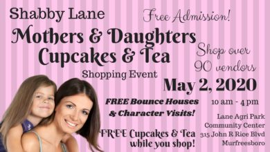 Photo of Shabby Lane's Mothers & Daughters Cupcakes and Tea