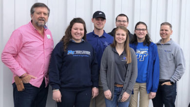 Photo of MTSU ag students learn life lessons repairing, donating bicycles to help the homeless