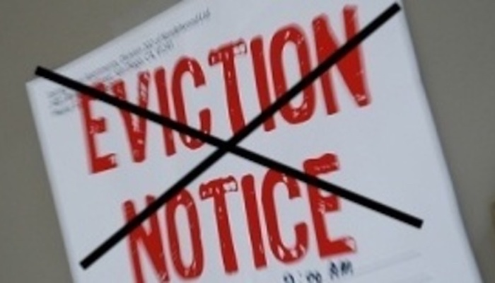 No Evictions