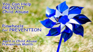 Photo of April is National Child Abuse Prevention Month