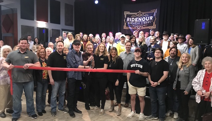 Ribbon Cutting for Ridenour Rehearsal Studios