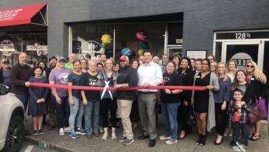 Photo of Ribbon Cutting for Simply Pure Sweets