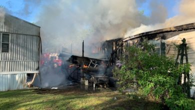 Cedar Park Mobile Home Fire