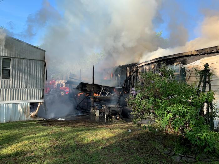 Cedar Park Mobile Home Fire