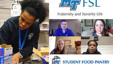Photo of MTSU Greek orgs go virtual to raise $3K-plus for Student Food Pantry