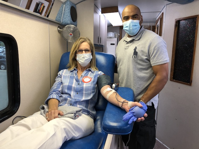 Bloodmobile at Sheriff's office