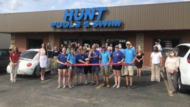 Photo of Ribbon Cutting for Hunt Pool & Swim