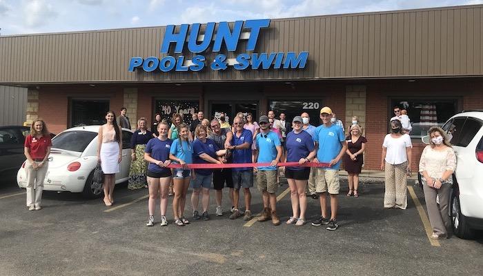 Ribbon Cutting for Hunt Pool & Swim