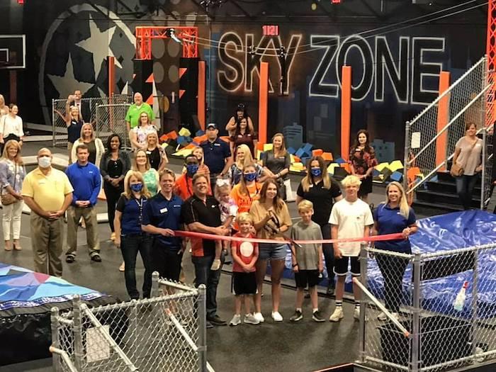 Sky Zone Ribbon Cutting
