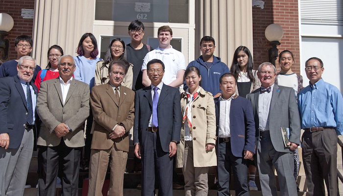 Actuarial science hosts China delegation