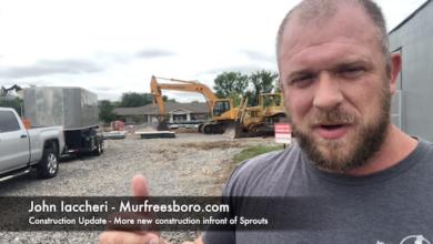 Photo of Construction Update – Volunteer State Bank