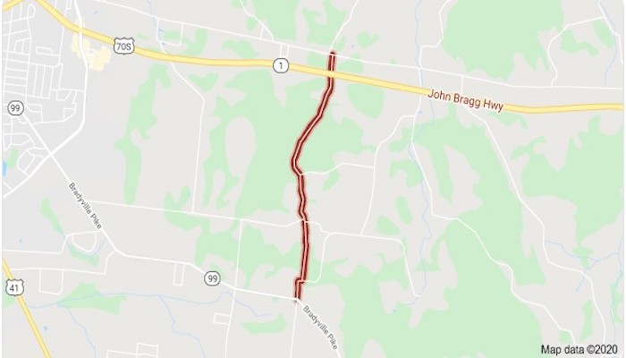 Mount Herman Road Map