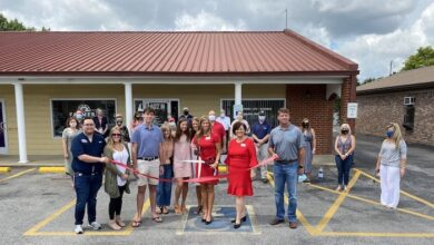 Photo of Ribbon Cutting for Farmer's Insurance – Sharon Perry Agency