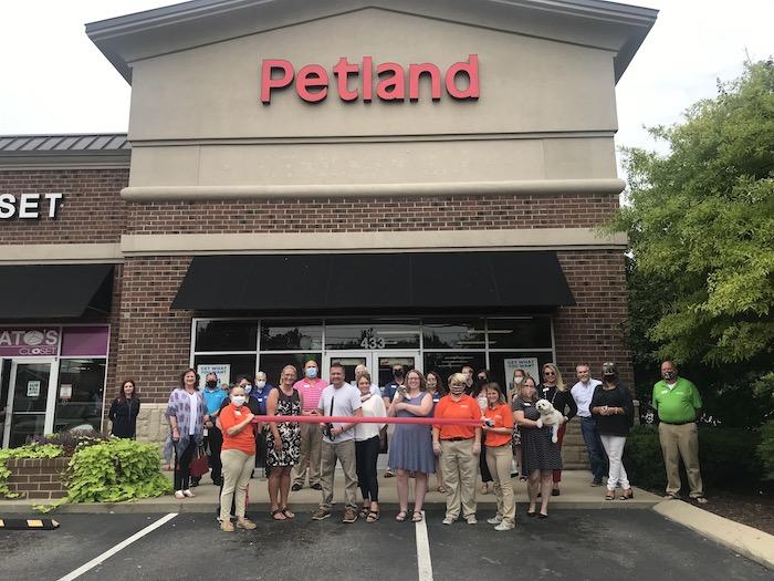 Ribbon Cutting for Petland