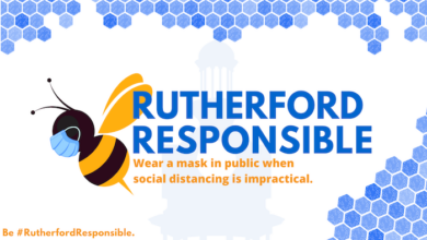 Photo of Rutherford County Strongly Encourages Masks: Asks Businesses, Citizens, and Visitors to be #RutherfordResponsible