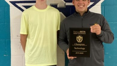 Photo of Siegel High Students Take First Place at National Beta Convention