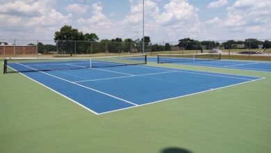 Photo of Basketball, Tennis Courts Open After Resurfacing, Striping Project
