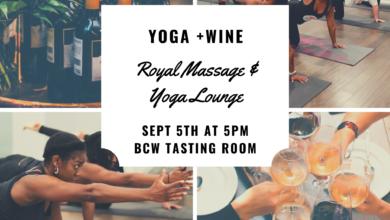 Photo of Yoga and Wine
