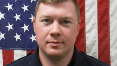 Photo of RCFR's Molder Promoted to Lieutenant