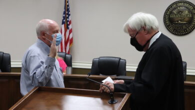 Photo of New Alderman Appointed to Fill Vacancy through November Election