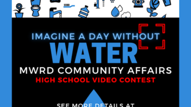 Photo of Murfreesboro Water Resources Department's Community Affairs team sponsors 'Imagine A Day Without Water' high school video contest
