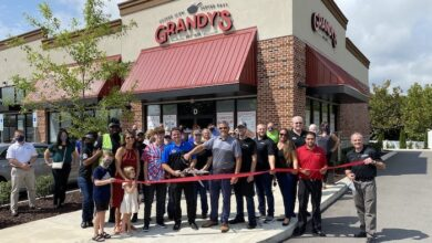 Ribbon Cutting for Grandy's