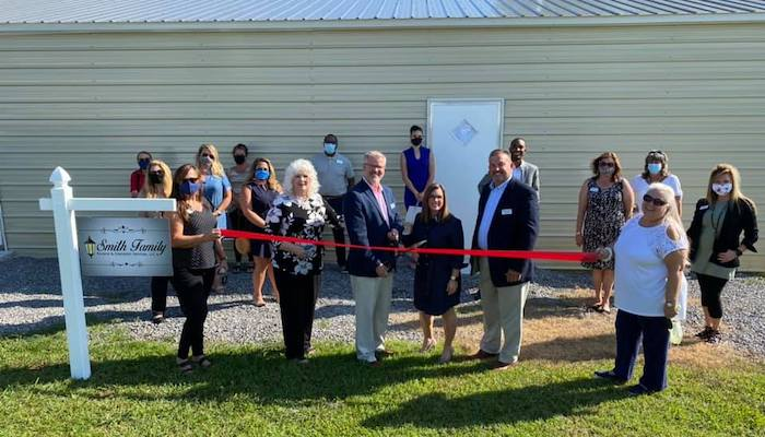 Ribbon Cutting for Smith Family Funeral & Cremation Services